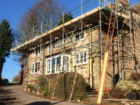 Courtenay Road, Okehampton - Roof works and temporary roof works (3 photos)